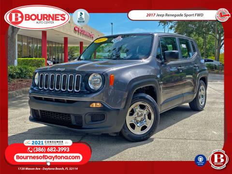 2017 Jeep Renegade for sale at Bourne's Auto Center in Daytona Beach FL