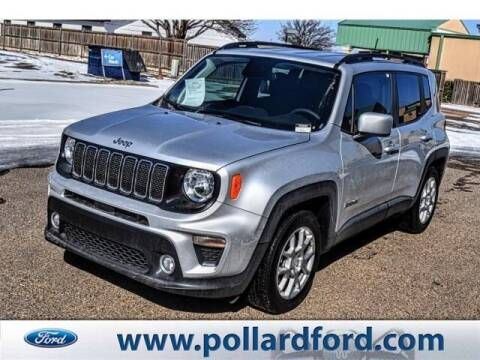 2020 Jeep Renegade for sale at South Plains Autoplex by RANDY BUCHANAN in Lubbock TX