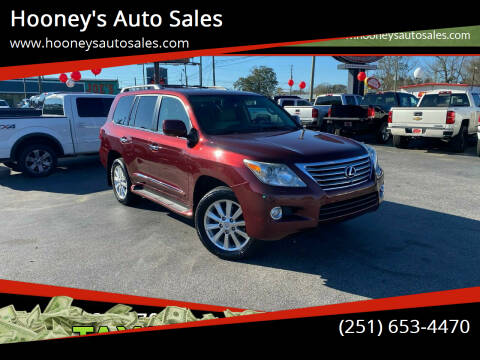 2010 Lexus LX 570 for sale at Hooney's Auto Sales in Theodore AL