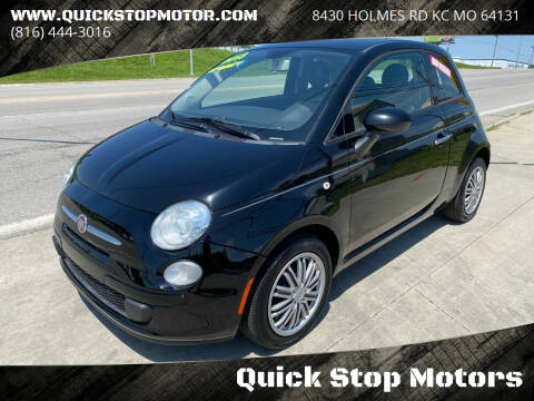 2013 FIAT 500 for sale at Quick Stop Motors in Kansas City MO