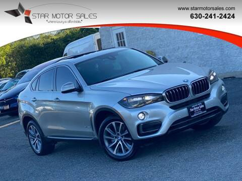 2015 BMW X6 for sale at Star Motor Sales in Downers Grove IL