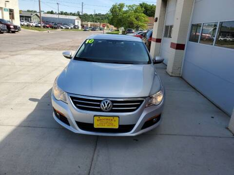 2010 Volkswagen CC for sale at Brothers Used Cars Inc in Sioux City IA