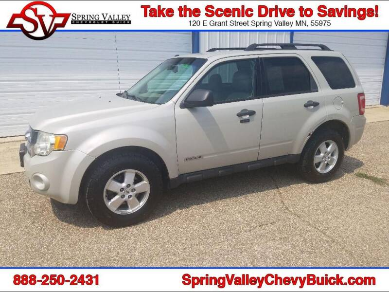 2008 Ford Escape for sale at Spring Valley Chevrolet Buick in Spring Valley MN