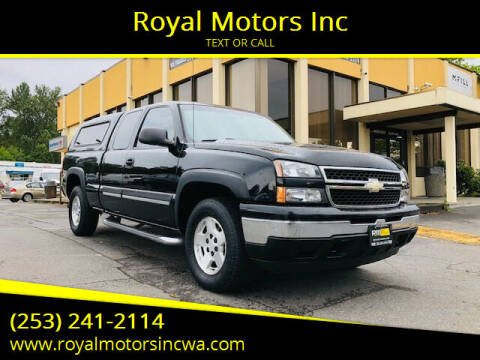 2007 Chevrolet Silverado 1500 Classic for sale at Royal Motors Inc in Kent WA