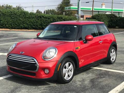 2015 MINI Hardtop 2 Door for sale at RUSH AUTO SALES in Burlington NC