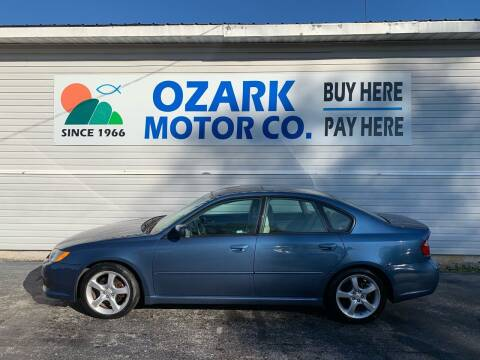 2008 Subaru Legacy for sale at OZARK MOTOR CO in Springfield MO