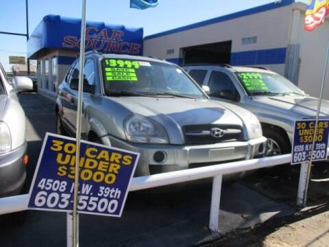 2007 Hyundai Tucson for sale at CAR SOURCE OKC in Oklahoma City OK
