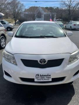 2009 Toyota Corolla for sale at JTR Automotive Group in Cottage City MD