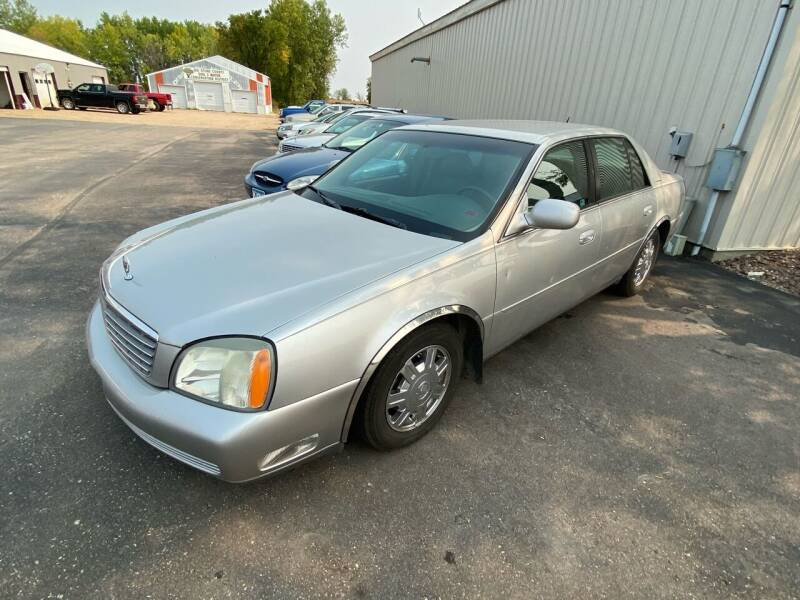 2005 Cadillac DeVille for sale at Hill Motors in Ortonville MN