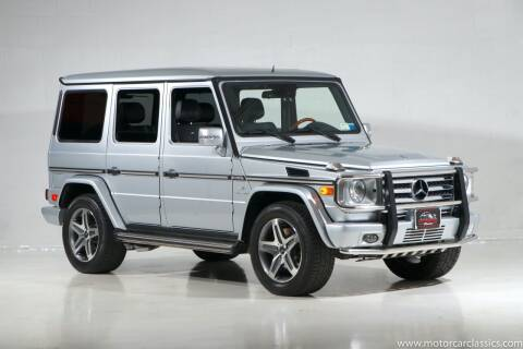 2011 Mercedes-Benz G-Class for sale at Motorcar Classics in Farmingdale NY