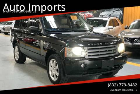 2007 Land Rover Range Rover for sale at Auto Imports in Houston TX