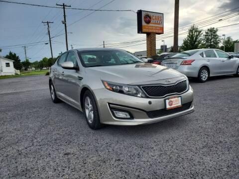 2015 Kia Optima for sale at Cars 4 Grab in Winchester VA
