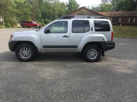 2014 Nissan Xterra for sale at Lou Rivers Used Cars in Palmer MA