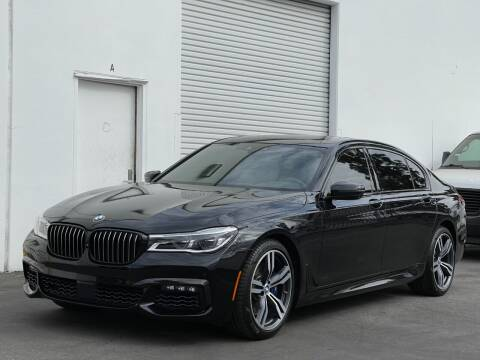 2017 BMW 7 Series for sale at Corsa Exotics Inc in Montebello CA