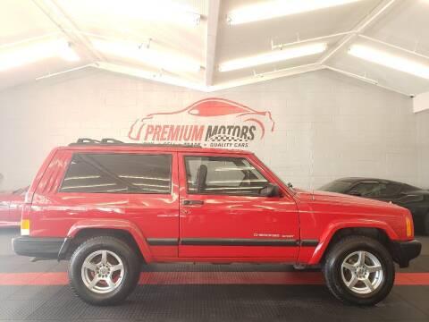 1999 Jeep Cherokee for sale at Premium Motors in Villa Park IL