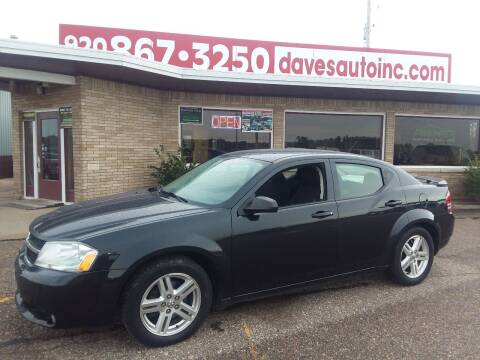 2009 Dodge Avenger for sale at Dave's Auto Sales & Service in Weyauwega WI