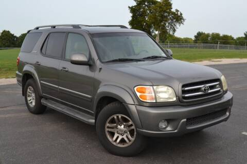 2003 Toyota Sequoia for sale at GLADSTONE AUTO SALES    GUARANTEED CREDIT APPROVAL in Gladstone MO