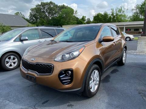 2017 Kia Sportage for sale at McCully's Automotive - Trucks & SUV's in Benton KY