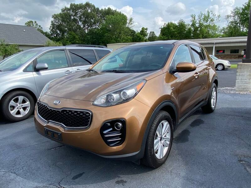2017 Kia Sportage for sale at McCully's Automotive in Benton KY