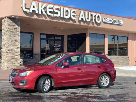 2013 Subaru Impreza for sale at Lakeside Auto Brokers Inc. in Colorado Springs CO