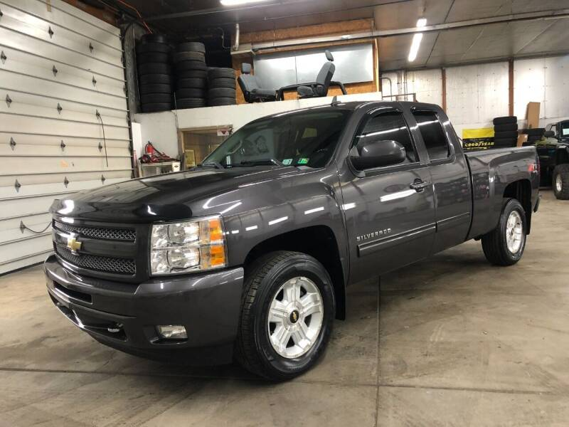 2011 Chevrolet Silverado 1500 for sale at T James Motorsports in Gibsonia PA