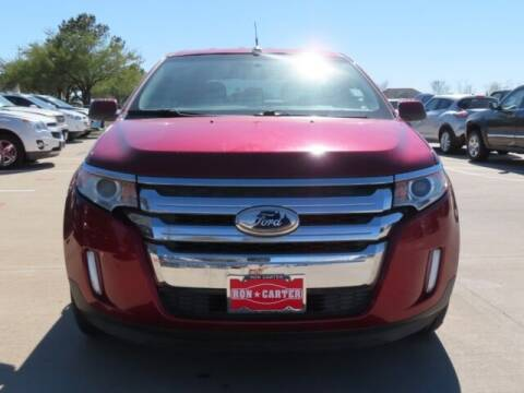 2013 Ford Edge for sale at Ron Carter  Clear Lake Used Cars in Houston TX