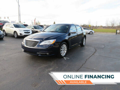 2014 Chrysler 200 for sale at A to Z Auto Financing in Waterford MI