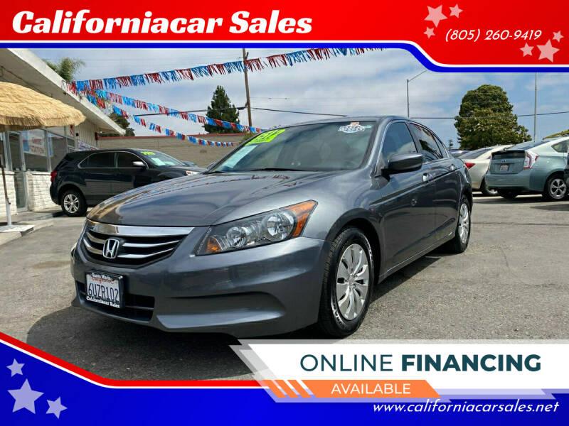 2012 Honda Accord for sale at Californiacar Sales in Santa Maria CA