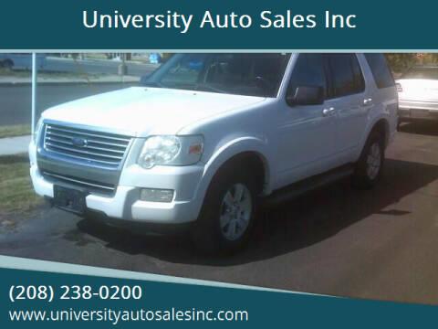 2010 Ford Explorer for sale at University Auto Sales Inc in Pocatello ID