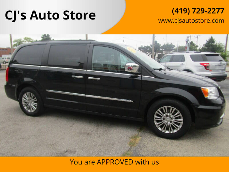 2016 Chrysler Town and Country for sale at CJ's Auto Store in Toledo OH