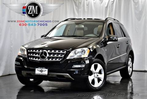 2011 Mercedes-Benz M-Class for sale at ZONE MOTORS in Addison IL