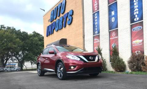 2018 Nissan Murano for sale at Auto Imports in Houston TX