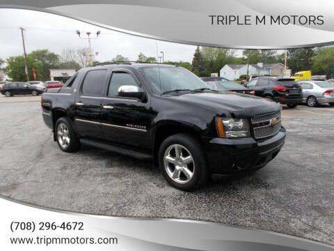 2013 Chevrolet Avalanche for sale at Triple M Motors in Saint John IN