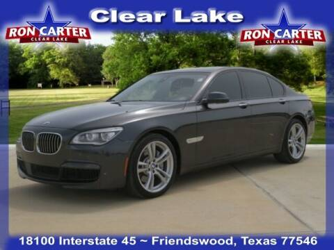 2015 BMW 7 Series for sale at Ron Carter  Clear Lake Used Cars in Houston TX
