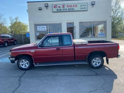 1996 Mazda B-Series Pickup for sale at C & S SALES in Belton MO