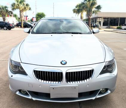 2005 BMW 6 Series for sale at Car Ex Auto Sales in Houston TX