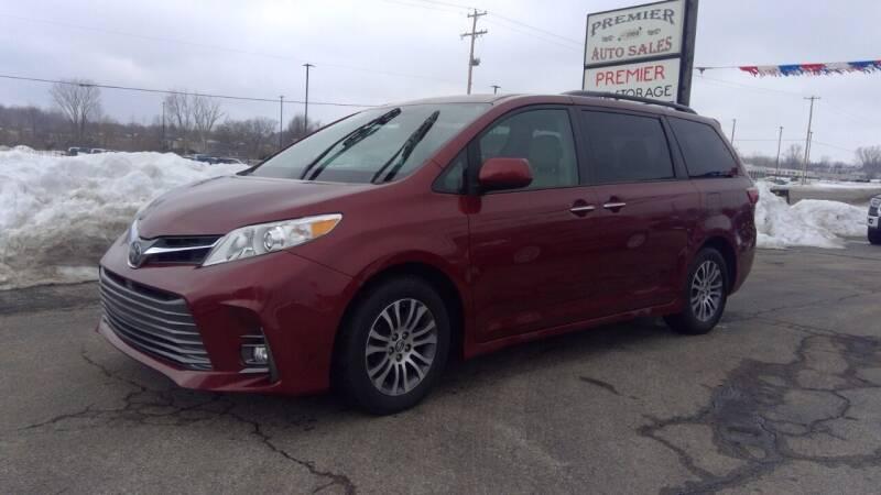 2018 Toyota Sienna for sale at Premier Auto Sales Inc. in Big Rapids MI