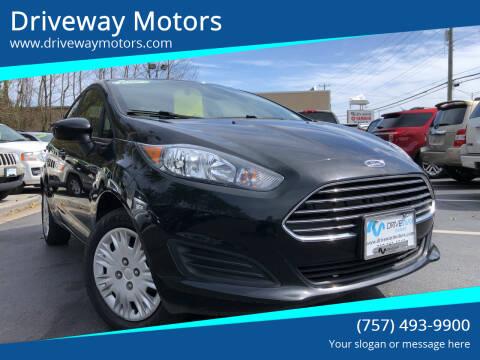 2019 Ford Fiesta for sale at Driveway Motors in Virginia Beach VA