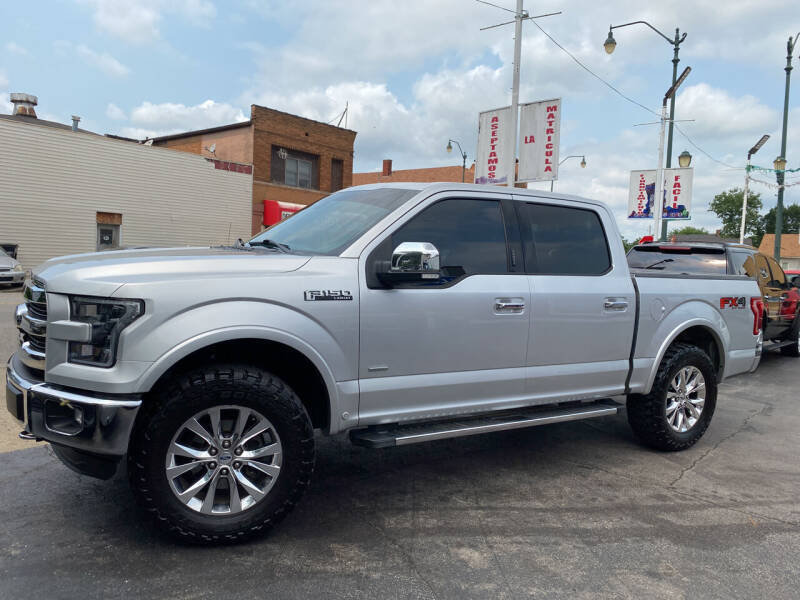2016 Ford F-150 for sale at Latino Motors in Aurora IL