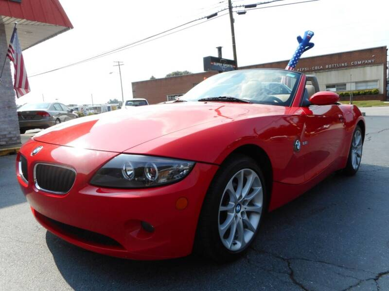 2005 BMW Z4 for sale at Super Sports & Imports in Jonesville NC