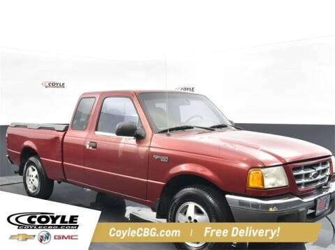 2001 Ford Ranger for sale at COYLE GM - COYLE NISSAN - New Inventory in Clarksville IN