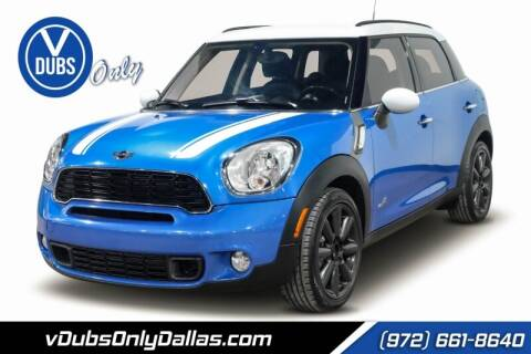2013 MINI Countryman for sale at VDUBS ONLY in Dallas TX