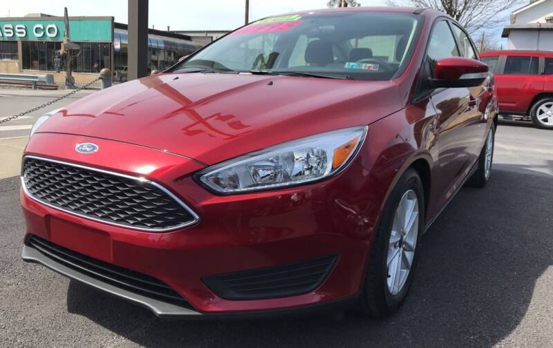 2016 Ford Focus for sale at Red Top Auto Sales in Scranton PA