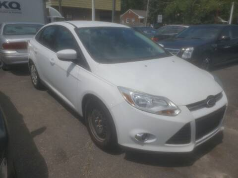 2012 Ford Focus for sale at J & J Used Cars inc in Wayne MI