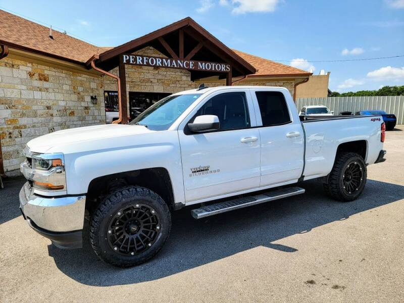2019 Chevrolet Silverado 1500 LD for sale at Performance Motors Killeen Second Chance in Killeen TX