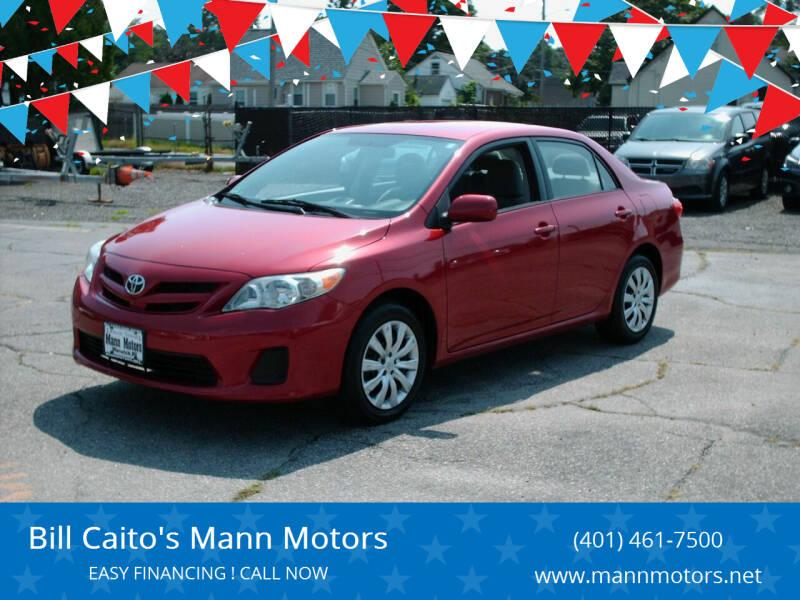 2012 Toyota Corolla for sale at Bill Caito's Mann Motors in Warwick RI