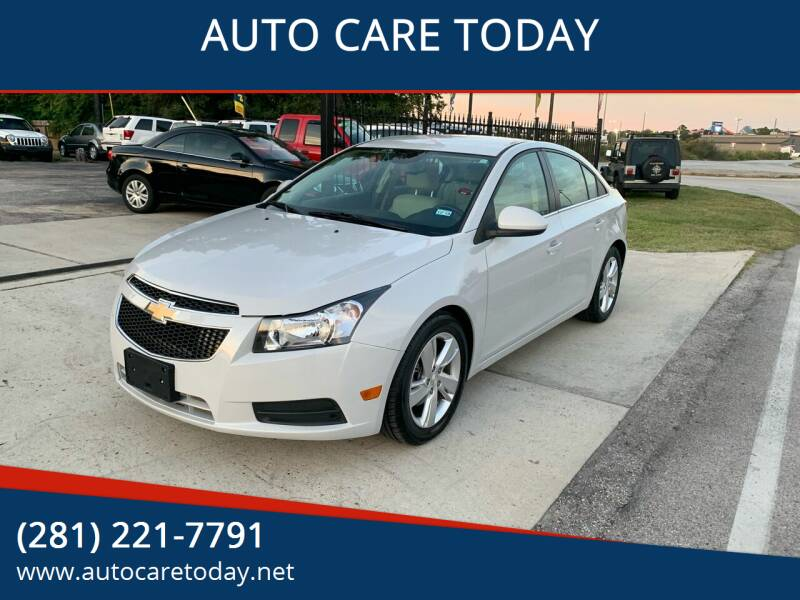 2014 Chevrolet Cruze for sale at AUTO CARE TODAY in Spring TX