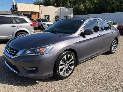 2015 Honda Accord for sale at SKY AUTO SALES in Detroit MI