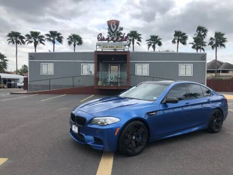 2013 BMW M5 for sale at Barrett Auto Gallery in San Juan TX