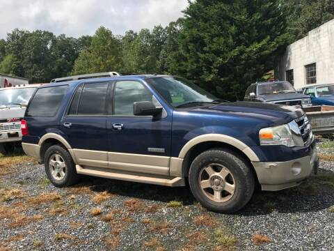 2007 Ford Expedition for sale at Full Throttle Auto Sales in Woodstock VA